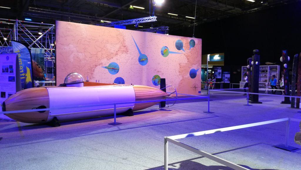 Installation à La Mer XXL : Le monde des abysses